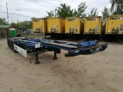 Krone SD. Раздвижной контейнеровоз 2009 г, 35 240 кг.