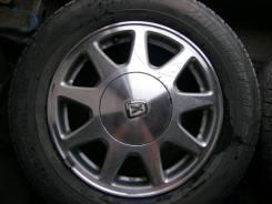 Комплект дисков Toyota с резиной Bridgestone B650, размером 195/65/R15. 6.0x15 5x114.30 ET50