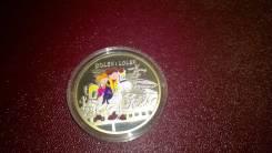 Ниуэ 1 доллар 2011 Лелик и Болек серебро блистер тираж 4000шт.