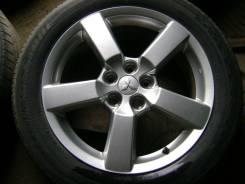 Диски от Mitsubishi Outlander XL, с резиной Bridgestone Dueler Sport. 7.0x18 5x114.30 ET38 ЦО 67,1мм.