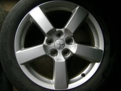 Диски Mitsubishi Outlander XL, с резиной Goodyear размером 225/55/R18. 7.0x18 5x114.30 ET38 ЦО 67,1мм.