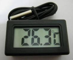 Термометр встраиваемый 48х28мм с внешним датчиком 2 метра