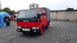 Nissan Atlas. Бывшая пожарка, 2 000 куб. см., 1 500 кг.