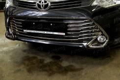 Накладка на решетку бампера. Toyota Camry, AVV50, ASV50, GSV50