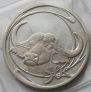 50 центов 2001 г., Южная Африка, Серебро, Фауна