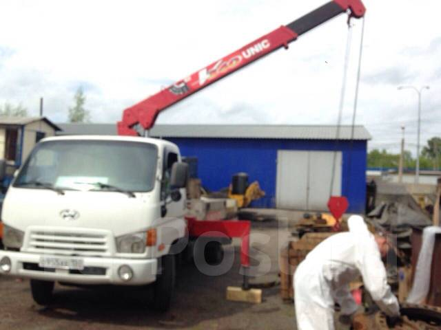Hyundai HD78. Продам грузовик с краном манипулятором Huyndai HD78, 3 900 куб. см., 5 000 кг.