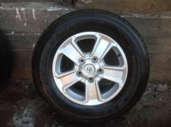Комплект колес на оригинальном литье тойота тундра2015г. 8.0x18 5x100.00 ET60