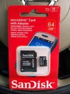 MicroSD. 64 Гб, интерфейс microSD. Под заказ