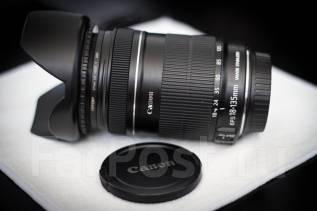 Объектив Canon EF-S 18-135 mm f/3.5-5.6 IS + бленда. Для Canon, диаметр фильтра 67 мм