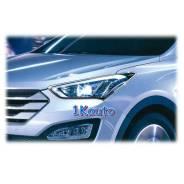 Накладка на фару. Hyundai Santa Fe, DM