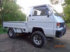 Mitsubishi Delica. Продам бортовой (тент) грузовик, 2 500 куб. см., 1 000 кг.