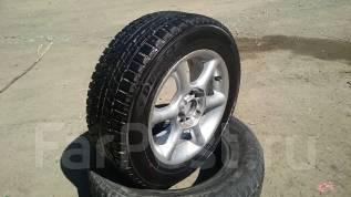 Пара колёс 195/65 R15 Dunlop Winter Ice 01. 6.5x15 4x114.30, 5x114.30 ET48 ЦО 73,0мм.