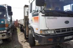 Kia Granto. Продам грузовик с манипулятором 15тонн, 17 238 куб. см., 15 000 кг.