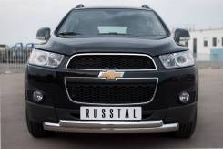 Защита бампера. Chevrolet Captiva, C140 Двигатели: LE5, A, 22, DMH, 24, XE, LF1, 30, XH. Под заказ