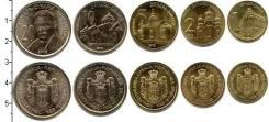 Сербия набор 5 монет 2012 2013 UNC (иностранные монеты)