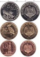 Южный Судан набор 3 монет 2015 Животные UNC