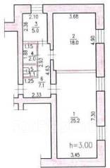 Сдается в аренду помещение площадью 58,4 кв. м. 58 кв.м., переулок Дзержинского 7, р-н Индустриальный