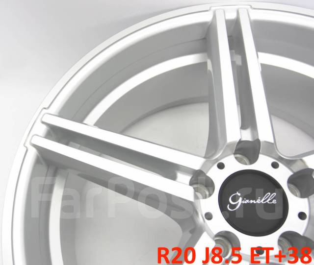 Gianelle. 8.5x20, 5x114.30, ET38, ЦО 73,1мм.