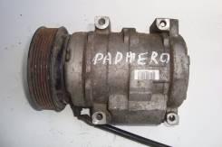 Компрессор кондиционера. Mitsubishi Pajero, V77W Двигатель 6G75