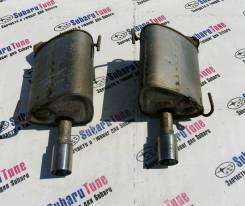 Бочки глушителя ( выхлопа ) + насадки Subaru Exiga YA YA4 YA5 YAM. Subaru Exiga, YAM, YA5, YA4