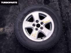 Запаска (литье) Terios/Cami/Pajero mini + Резина ''15[Turboparts]. 5.5x15 5x114.30 ET35