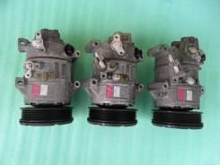 Компрессор кондиционера. Toyota Avensis, ZZT251L, ZZT251 Двигатель 1ZZFE