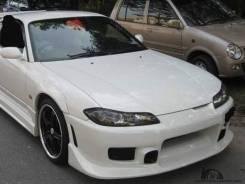 Передний бампер C-West для Nissan Silvia S15