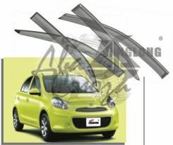 Ветровик на дверь. Nissan Micra Nissan March, K13