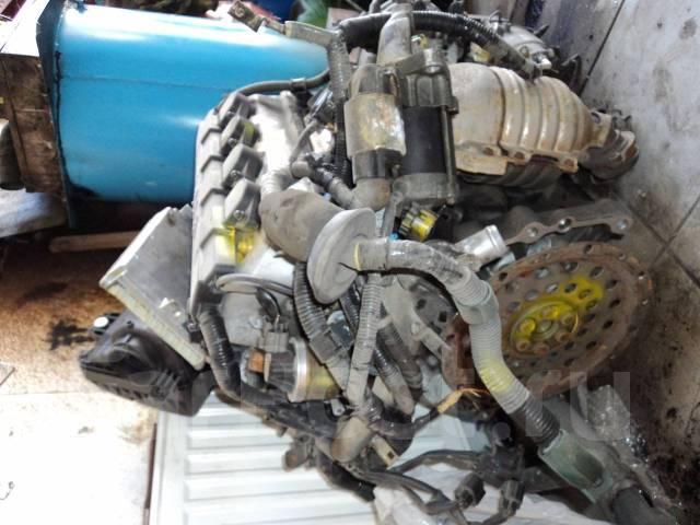 Двигатель в сборе. Honda: CR-X, Civic, Civic Shuttle, Concerto, Domani, Partner, Capa, CR-X del Sol, Integra SJ, Civic Ferio Двигатель D15B