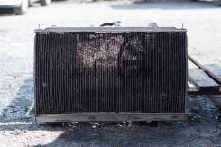 Радиатор охлаждения двигателя. Mitsubishi Lancer Evolution Mitsubishi Lancer Двигатель 4G63