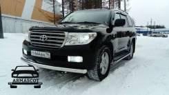 Защита бампера. Toyota Land Cruiser