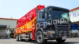 KCP. Автобетононасос КСР 40ZX5170 на шасси Scania P360 (2017г. в. ), 13 000 куб. см., 40 м. Под заказ