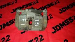 Суппорт тормозной. Nissan X-Trail, DNT31, TNT31, NT31, T31 Nissan Dualis, J10, NJ10, KJ10, KNJ10 Двигатели: MR20DE, M9R, QR25DE
