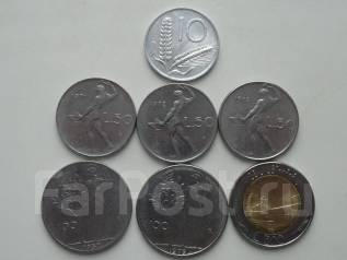 Италия подборка из 7 монет. Без повторов! Торги с 1 рубля!