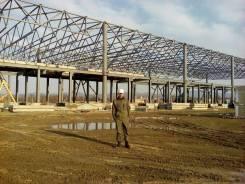 Монтаж металлоконструкций и сендвичь панелей, фасадов в Уссурийске.