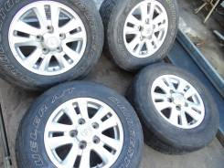 Комплект колёс на Toyota Land Cruiser 200, R17. 8.0x17 5x150.00 ET60