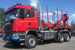Scania. Сортиментовоз G480 CB6x6EHZ с гидроманипулятором, 13 000 куб. см., 30 000 кг. Под заказ