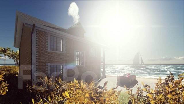 046 Za AlexArchitekt Двухэтажный дом в Березовском. 100-200 кв. м., 2 этажа, бетон