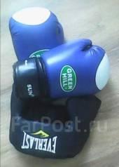 Перчатки боксёрские и шлем Everlast