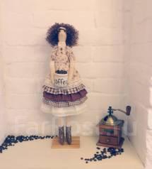 Интерьерные текстильная кукла на заказ