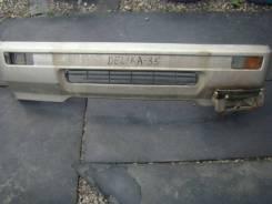 Бампер. Mitsubishi Delica, P35W Двигатель 4D56