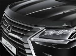 Дефлектор капота. Lexus LX570, URJ201, URJ201W Двигатель 3URFE