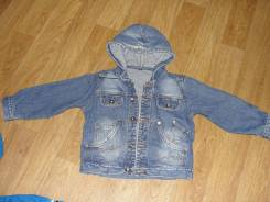 Куртки джинсовые. Рост: 80-86 см