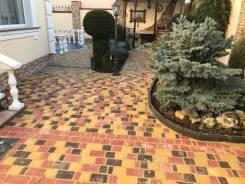 Укладка тротуарной плитки и благоустройство двора