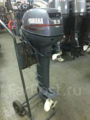 Yamaha. 9,90л.с., 2х тактный, бензин, нога L (508 мм), Год: 2004 год
