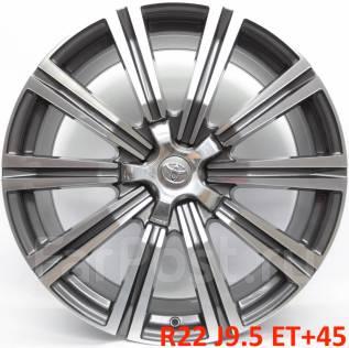 "Toyota. 9.5x22"", 5x150.00, ET45, ЦО 110,1мм."