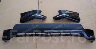 Обвес кузова аэродинамический. Toyota Land Cruiser Prado, TRJ125, TRJ12, GDJ150W, GDJ151W, TRJ120, KDJ150L, GRJ150W, TRJ120W, GRJ151W, TRJ150W, GDJ150...