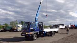 Hino Ranger. Продам бортовой грузовик с манипулятором HINO Ranger 1992 г. в. ОТС., 6 014 куб. см., 5 000 кг.