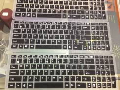 Силиконовые накладки на клавиатуру Asus 15.6 дюймов