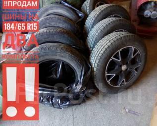 ! продам шины шины два комплекта вместе с литьём!